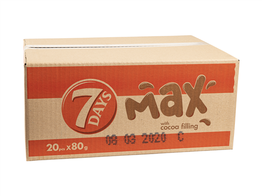 7 DAY MAX WITH COCOA CROISSANT(20x80G)