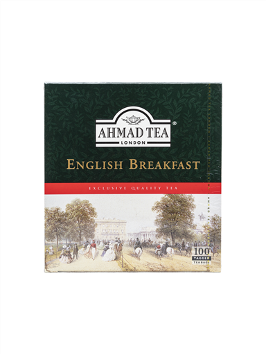 AHMAD TEA ENGLISH BREAKFAST(4x100'S)