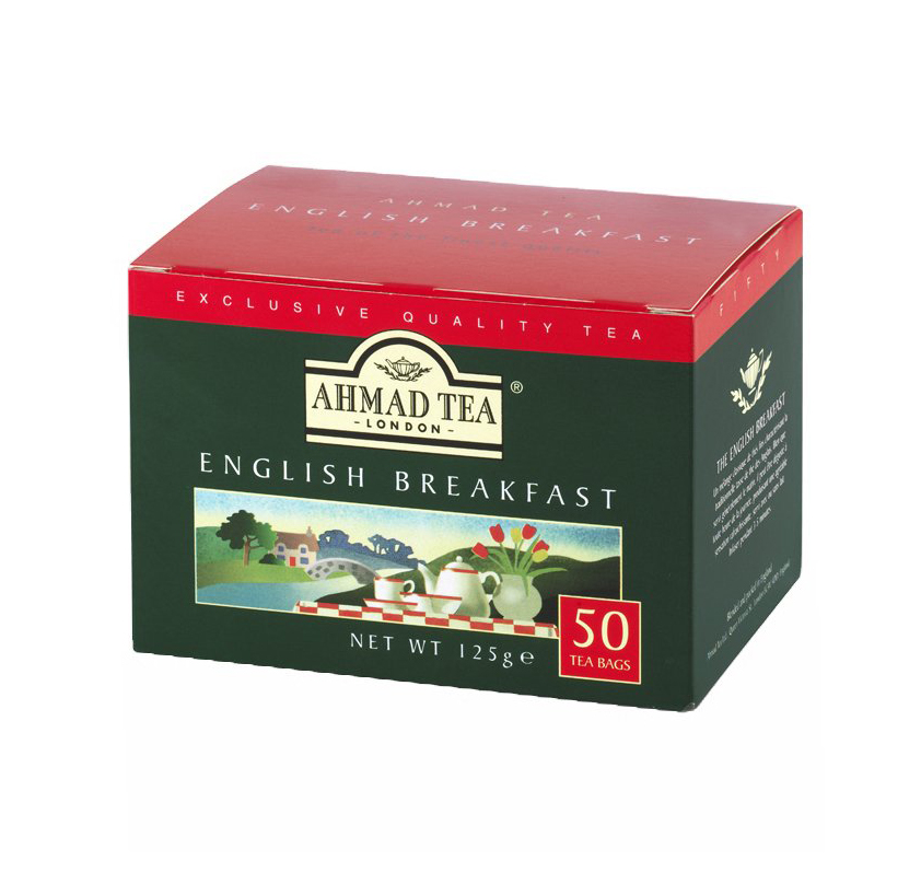AHMAD TEA ENGLISH BREAKFAST(4x125G)