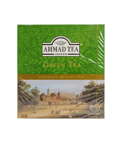 AHMAD TEA GREEN TEA(4x125G)