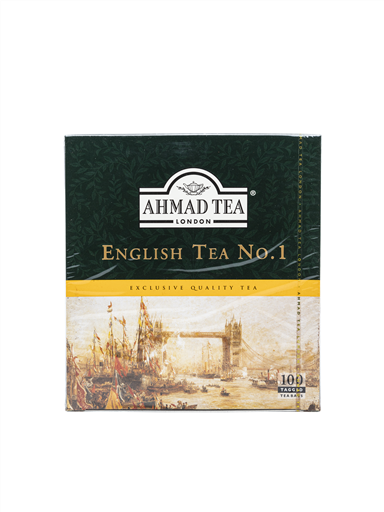AHMAD TEA ENGLISH TEA NO1(4x100'S)