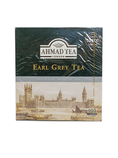 AHMAD TEA EARL GREY TEA(4x100'S)