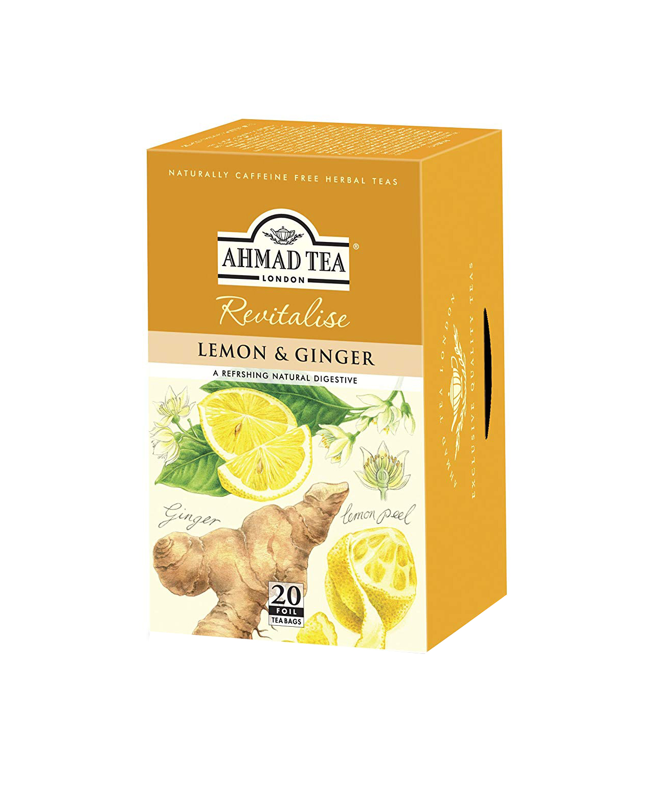 AHMAD TEA LEMON & GINGER(5x40G)