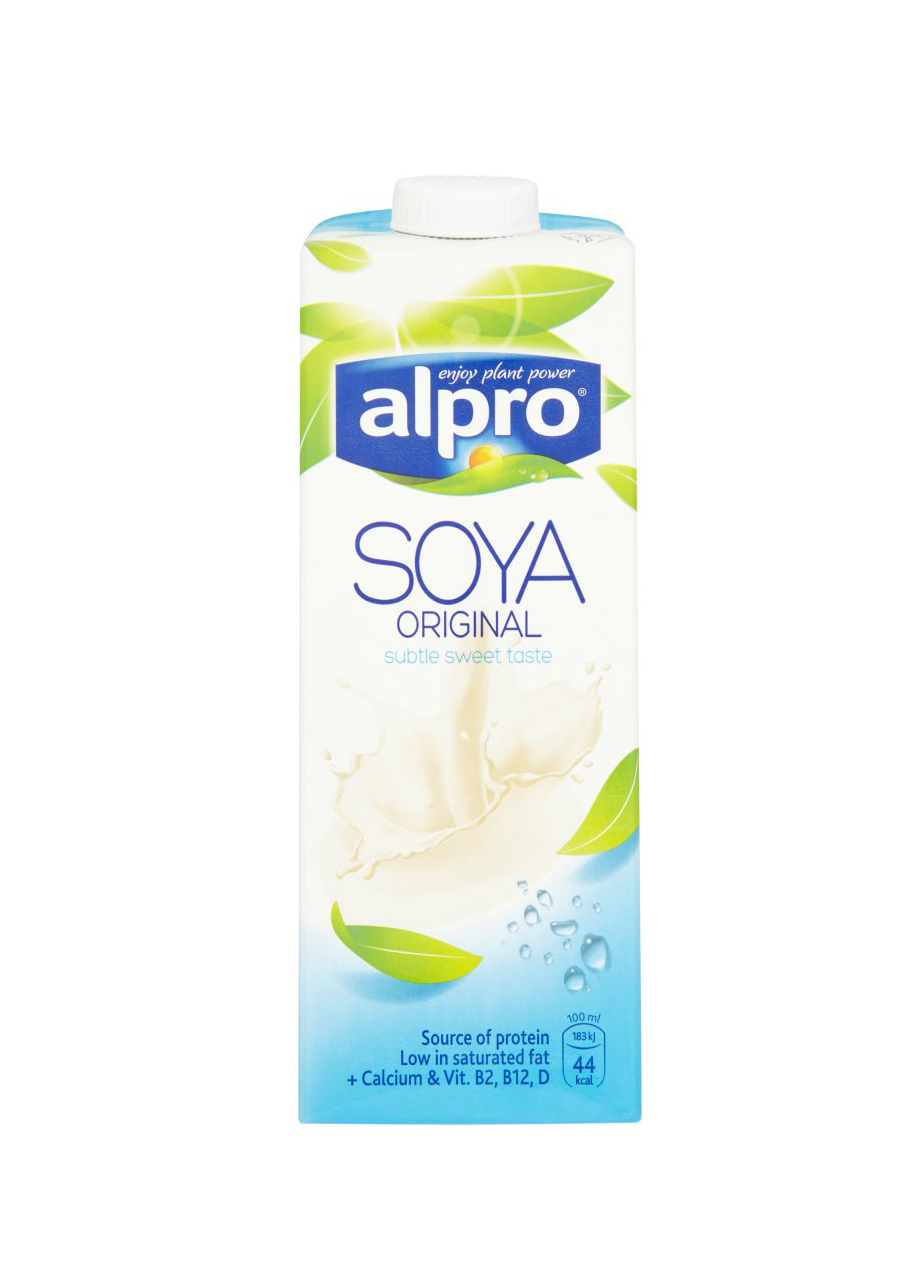 ALPRO SOYA ORIGINAL SWEETENED (153)(8x1LT)