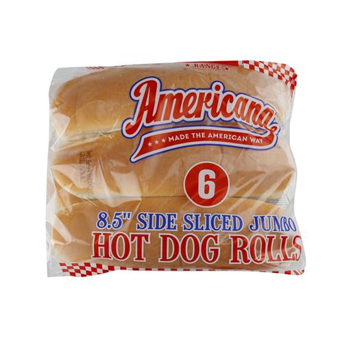 "AMERICANA 8.5"" JUMBO SIDE SLICED EURO (HOT DOG)"