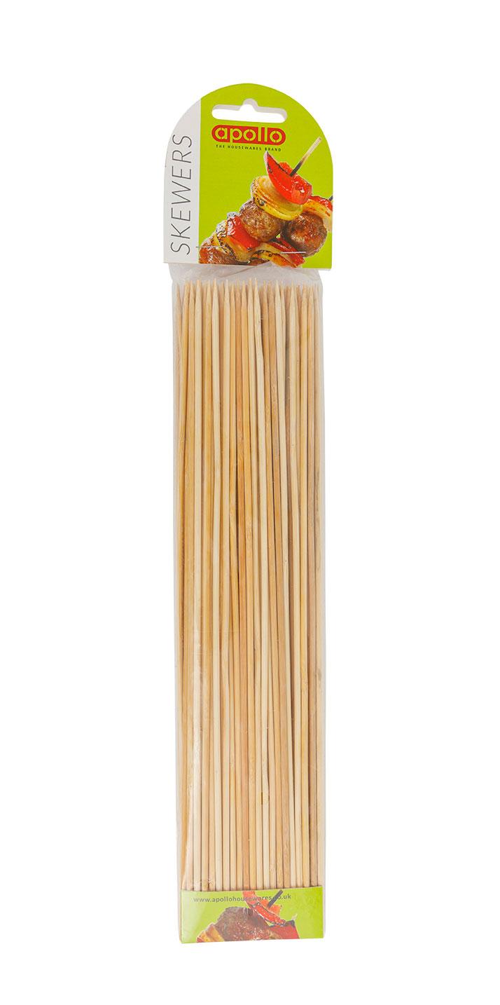 APOLLO BAMBOO SKEWERS 12''(12x100PCS)