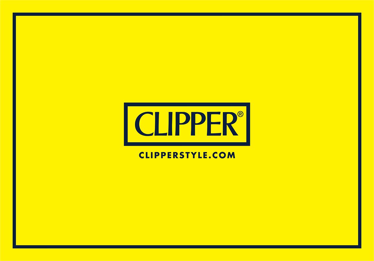 CLIPPER LIGHTERS METALLIC