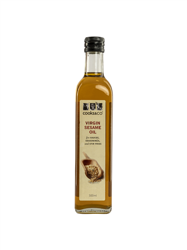 COOKS&CO VIRGIN SESAME OIL--DELIST